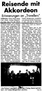 Perlons Zeitungsausschnitt
